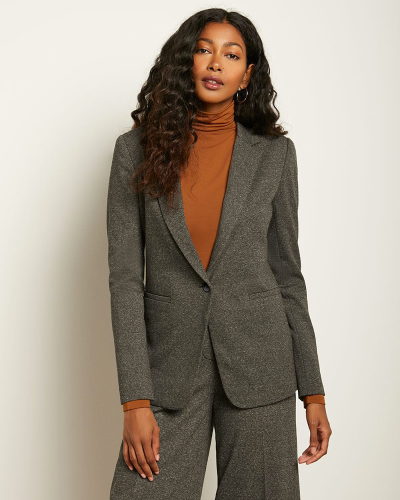 STRETCH TWEED BLAZER, RW&CO.