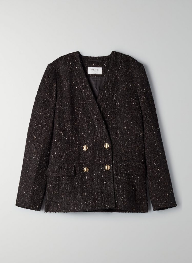 TWEED BLAZER, BABATON, IN ARITZIA
