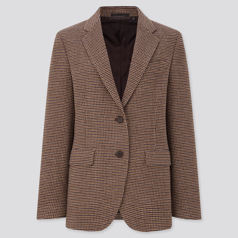 TWEED BLAZER, UNIQLO