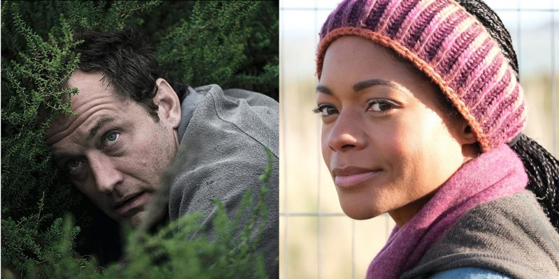Jude Law and Naomie Harris in 'The Third Day'