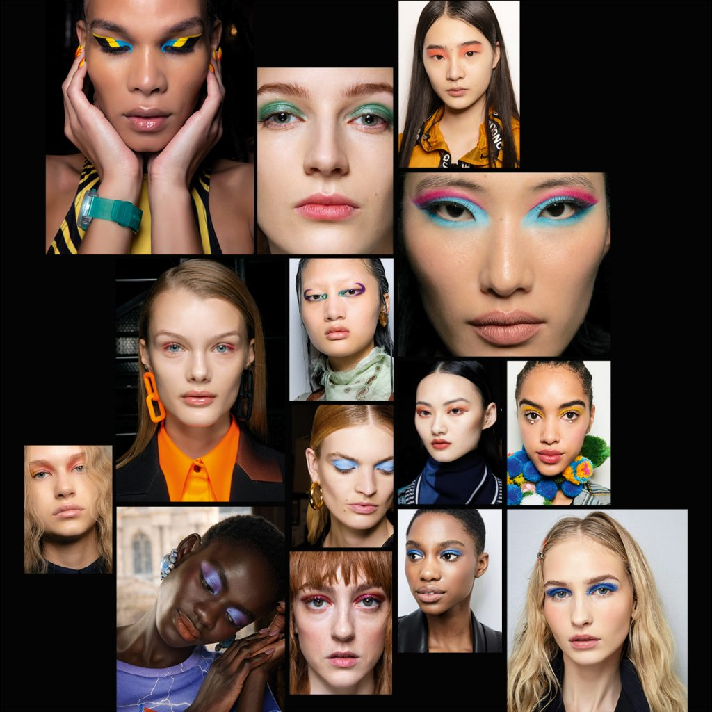 Colourful Eyes Fall Winter 2020 Makeup Trends