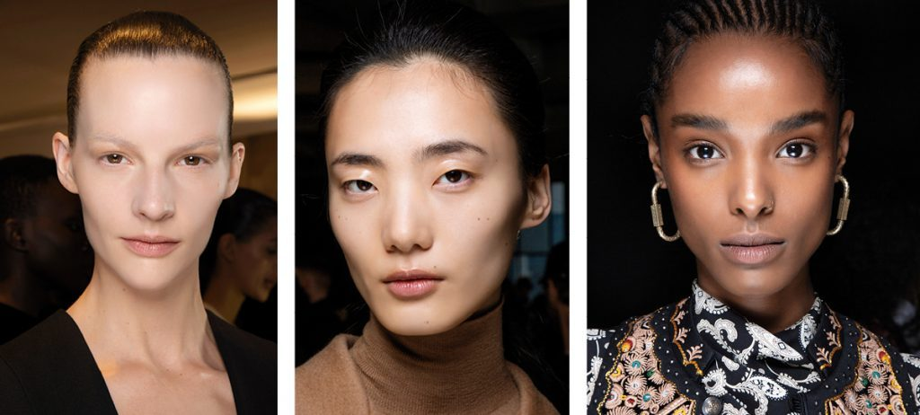 Glossy Skin Fall Winter 2020 Makeup Trends