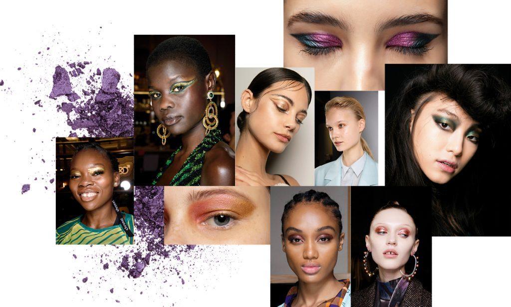 Metallic Tones Fall Winter 2020 Makeup Trends