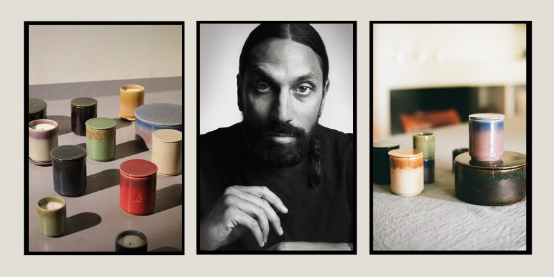 Ikea partners with Ben Gorham, founder of Byredo, on a candle collection.