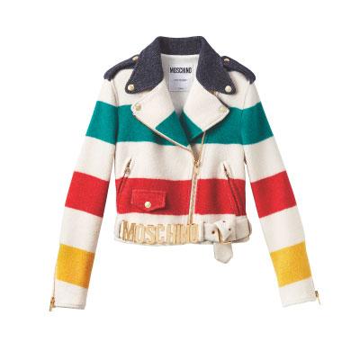 Moschino X HBC Wool Jacket