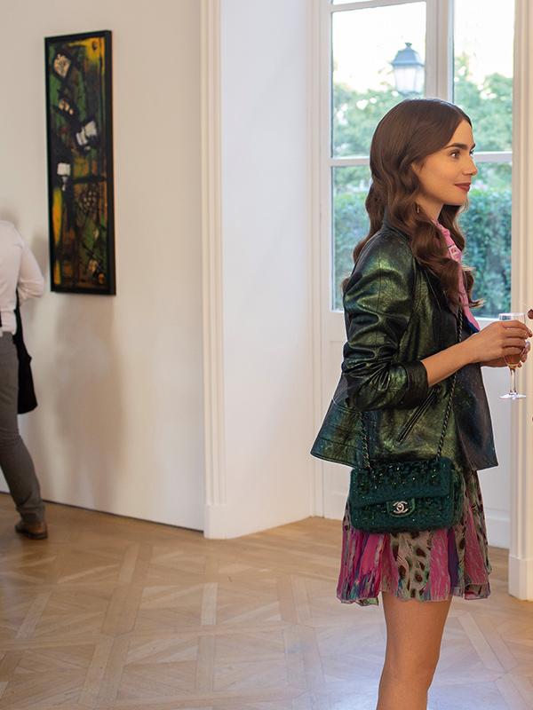 Emily in Paris outfit details