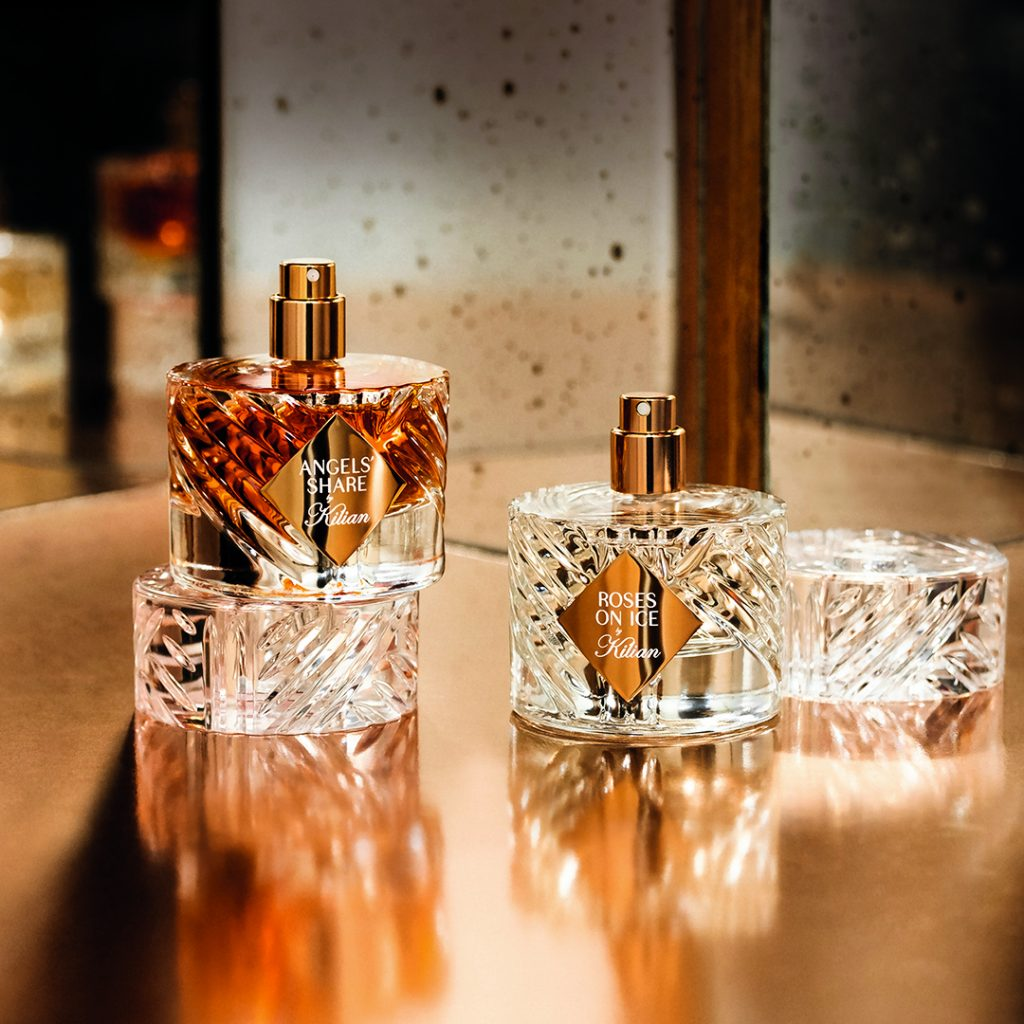 By Kilian fragrances Angels' Share and Roses on Ice