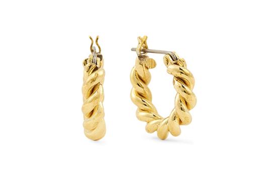 Holt Renfrew Laura Lombardi Mini Twist Hoop Earrings