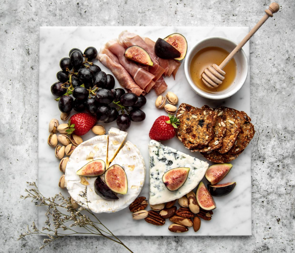 Natural Marble Charcuterie Board