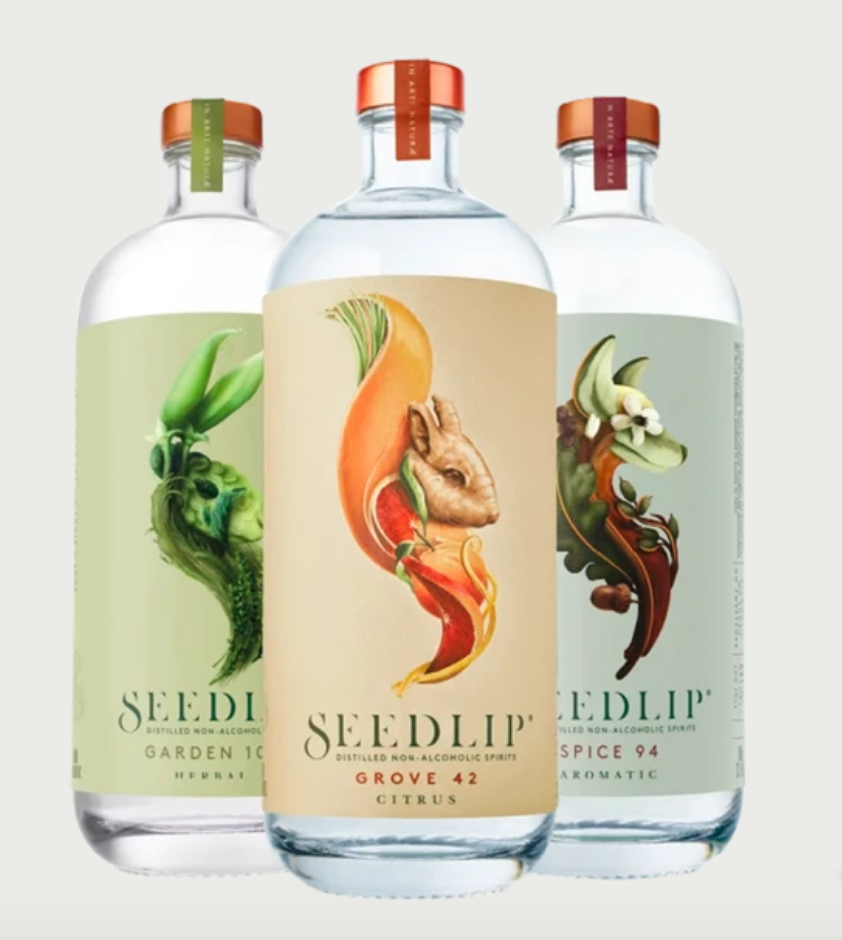 Seedlip Distilled Non-Alcoholic Spirit
