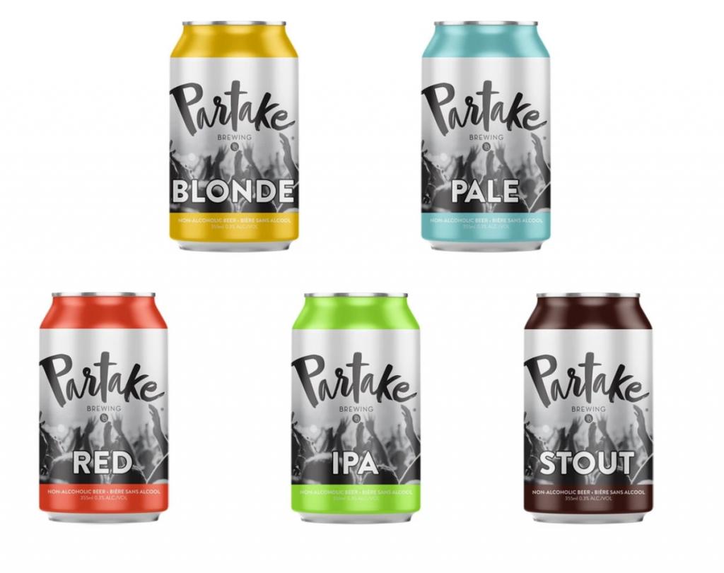 Partake Non-alcholic Beer