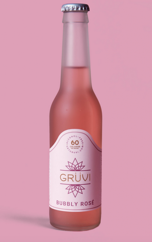 Gruvi Non Alcoholic Bubbly Rose