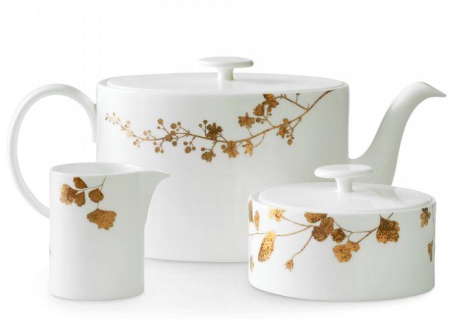 Vera Wang Wedgwood 3-Piece Tea Set