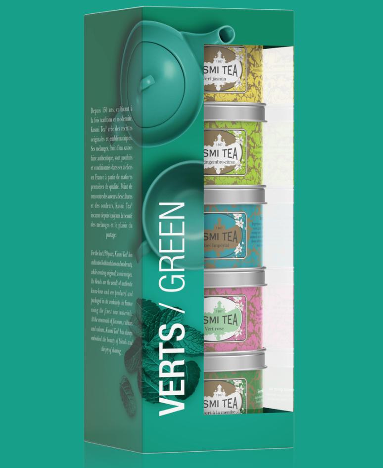 Kusmi Tea Green Tea Gift Set