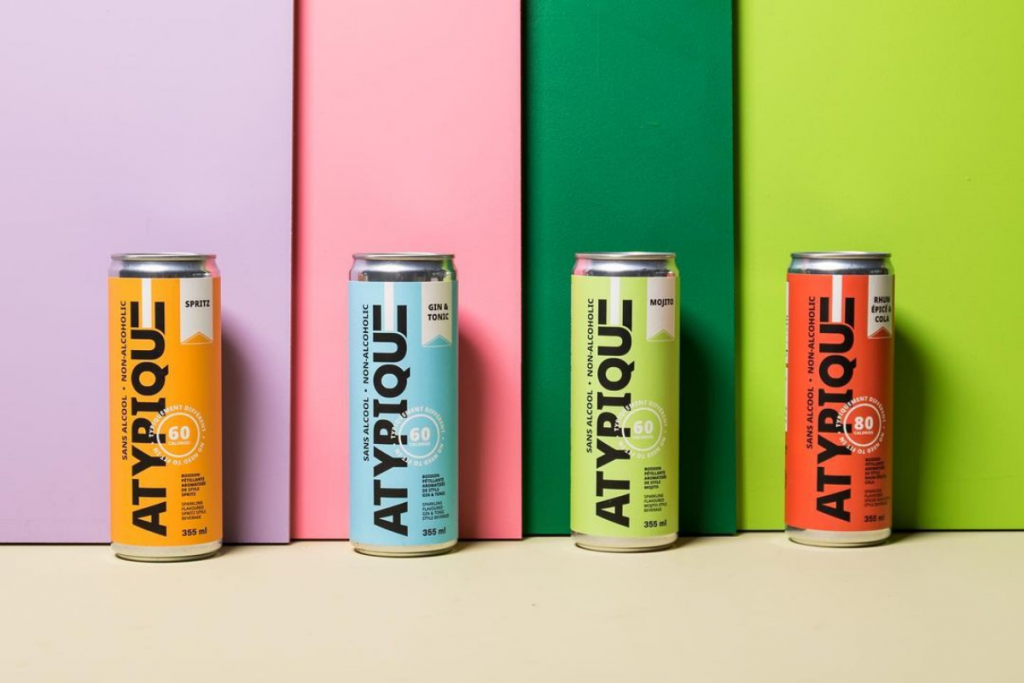 Atypique Sparkling Flavoured Beverage