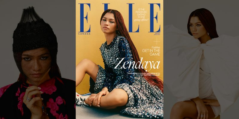Zendaya Feb-March Issue