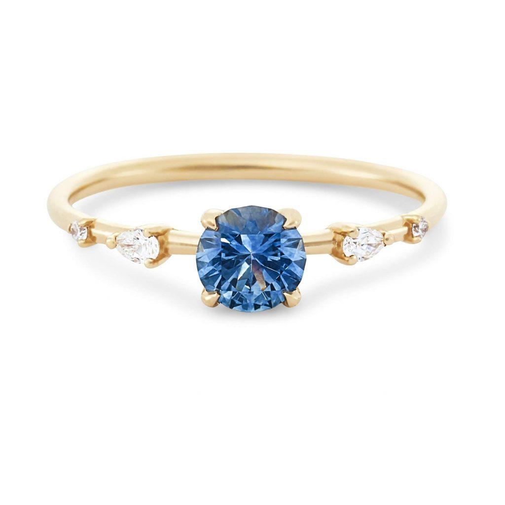 bluboho Endless Dahlia engagement ring