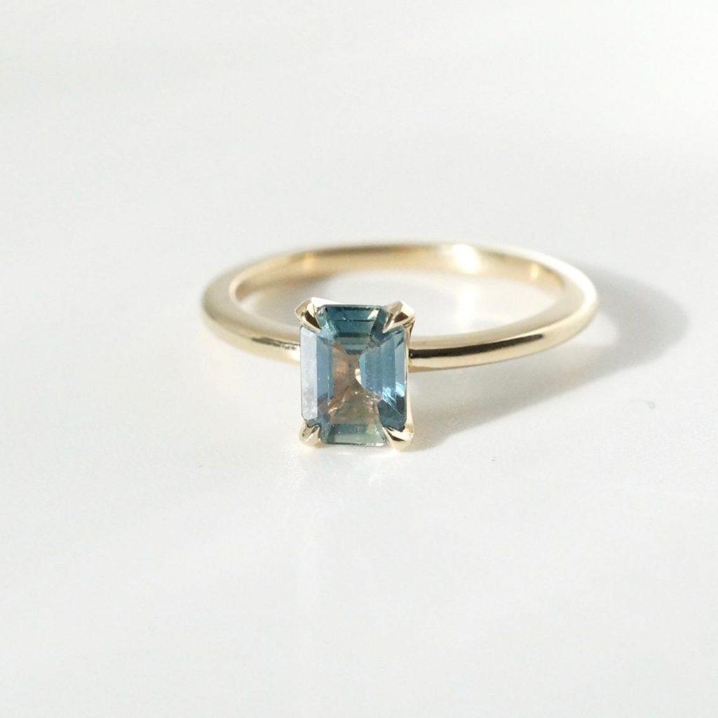 brockton saphire engagement ring