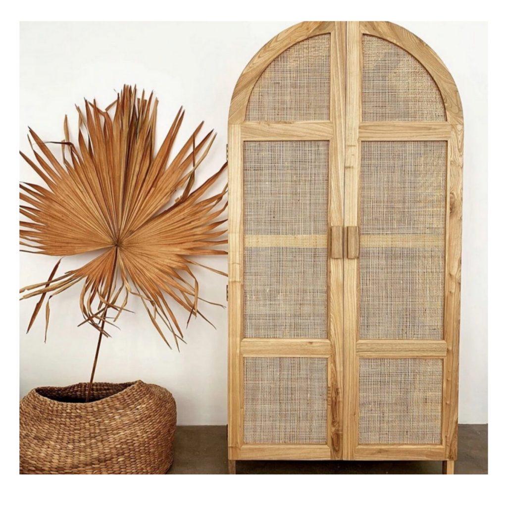 Casa Chic Arch Cabinet Winnie Wardrobe