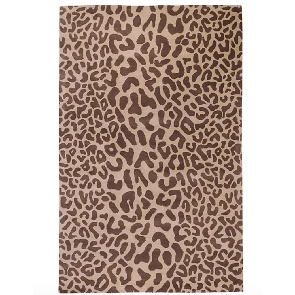 Bed Bath and Beyond Surya Athena Animal Print Rug