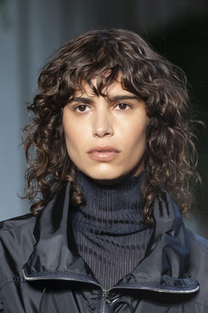 SS21 Hair Trend: Shag Comeback (Boss)