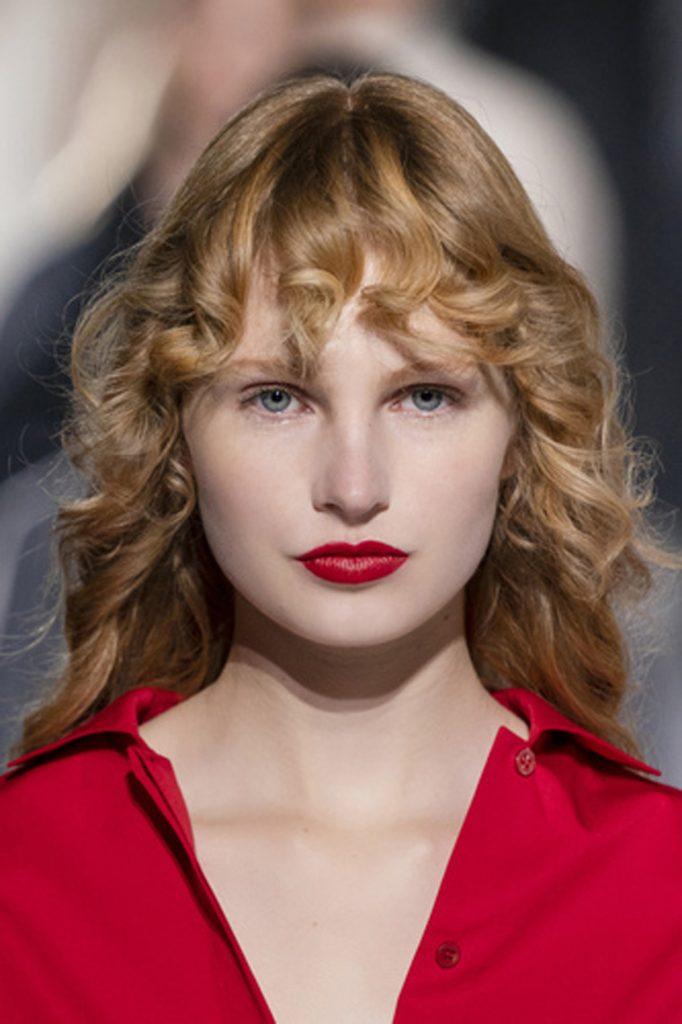 SS21 Hair Trend: Shag Comeback (Hermes)