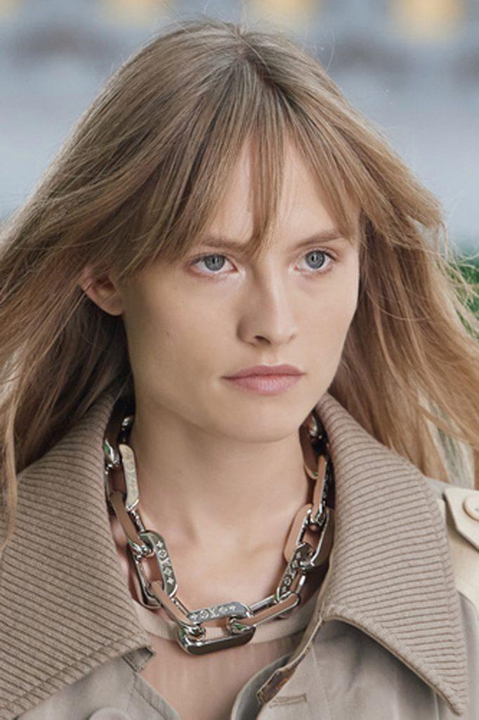 SS21 Hair Trend: Long Live Bangs (Louis Vuitton)