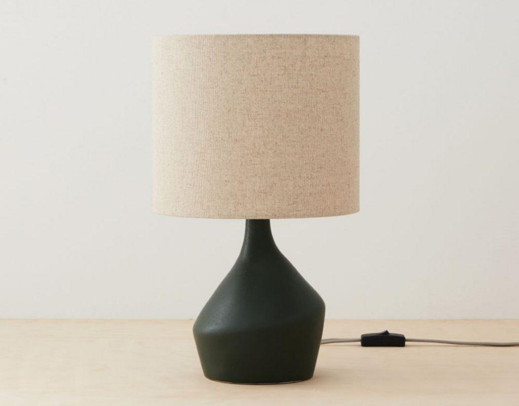 West Elm Asymmetry Ceramic Table Lamp