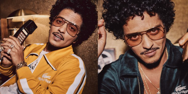 Bruno Mars Launches Lacoste x Ricky Regal