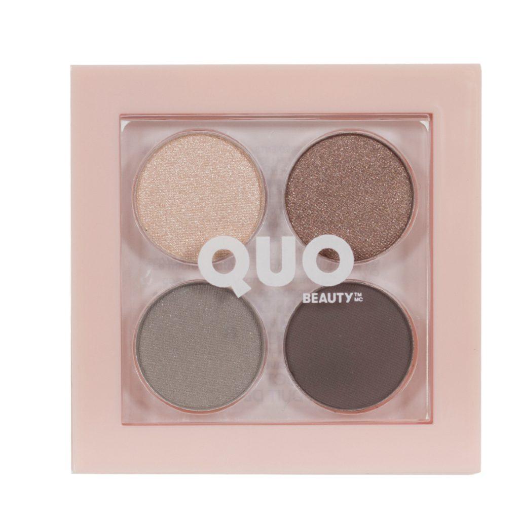 Quo Beauty Wake Up Micro Eyeshadow Quad