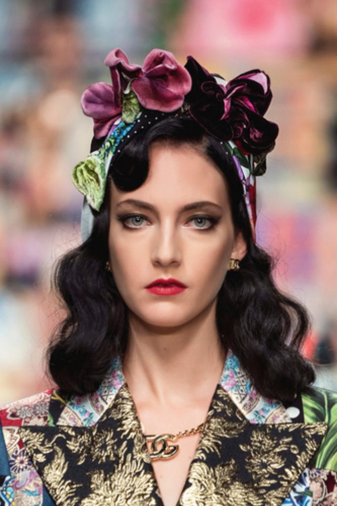 SS21 Hair Trend: Detail Oriented (Dolce and Gabbana)