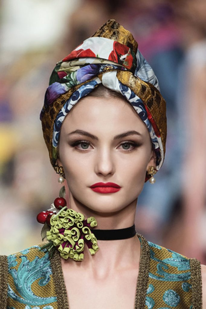 SS21 Makeup Trend: Smoke Show (Dolce and Gabbana)