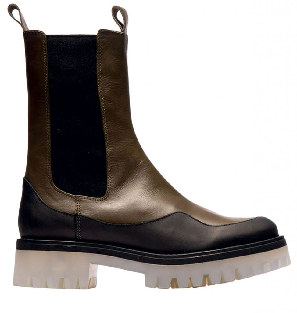 Leather and rubber boots from L'intervalle