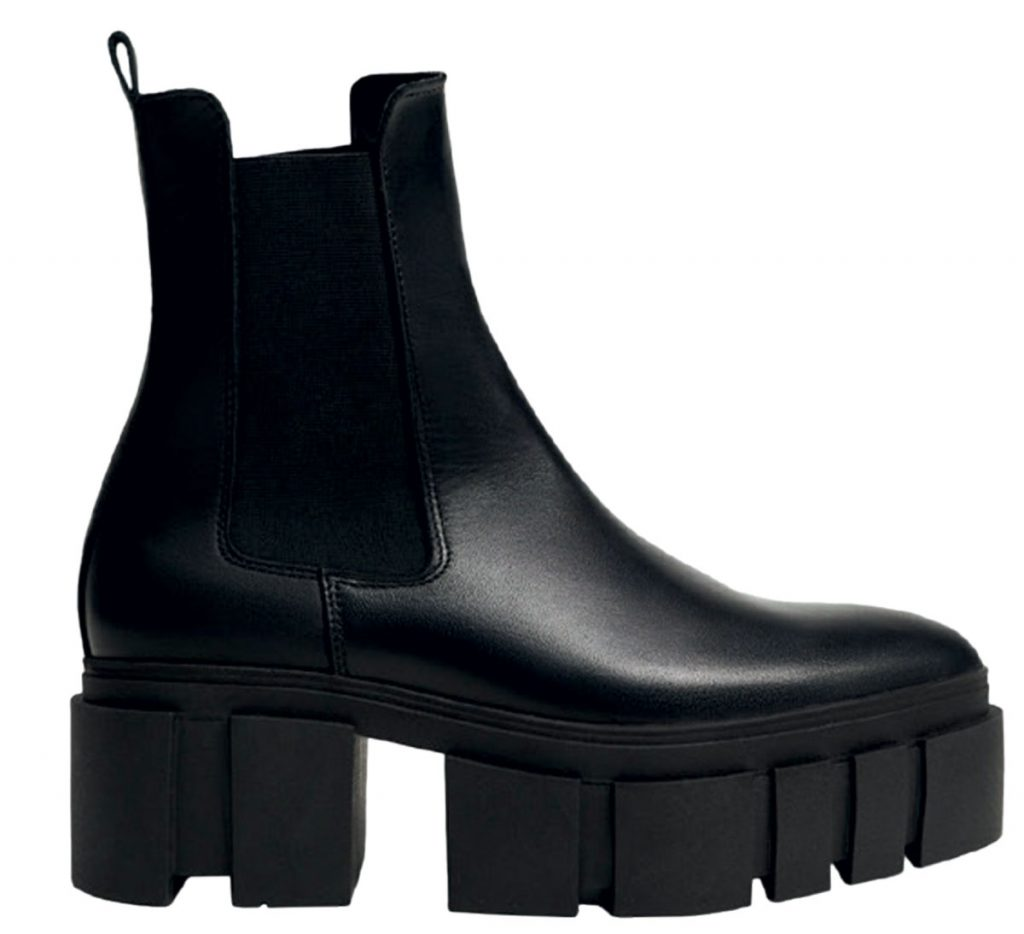 Leather boots from Mango