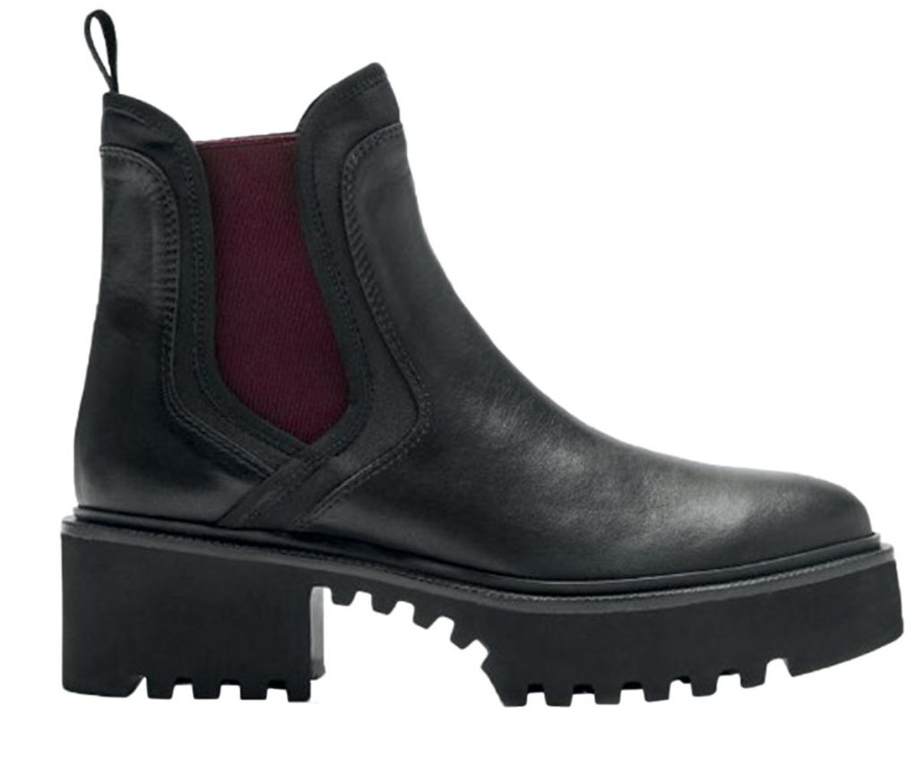 Leather boots from La Canadienne