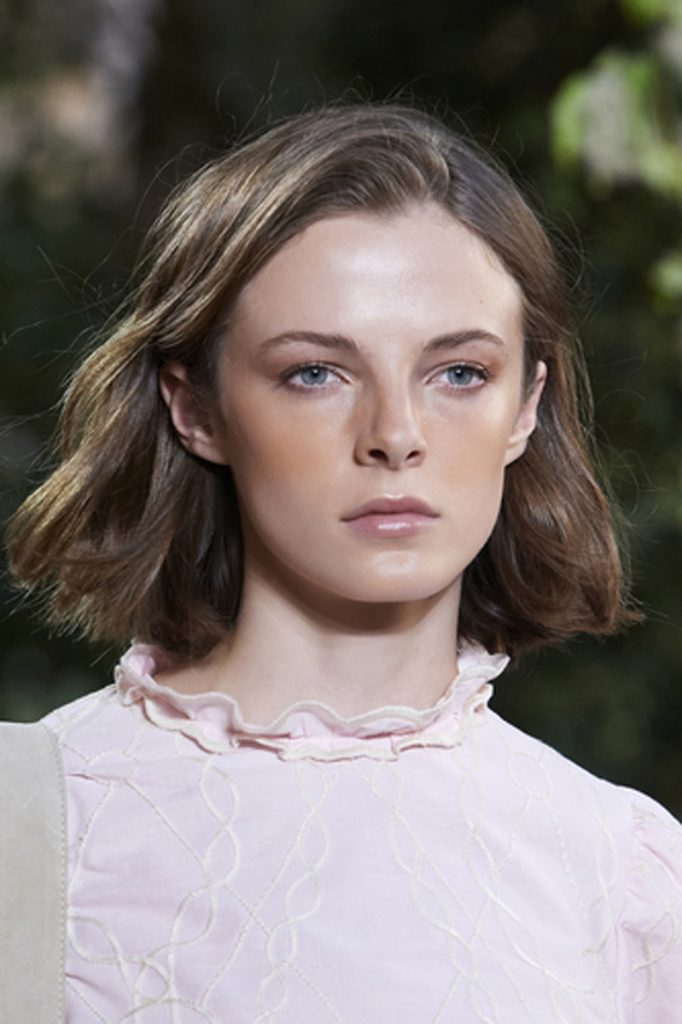 SS21 Hair Trend: Hip To Be Square (Ferretti)