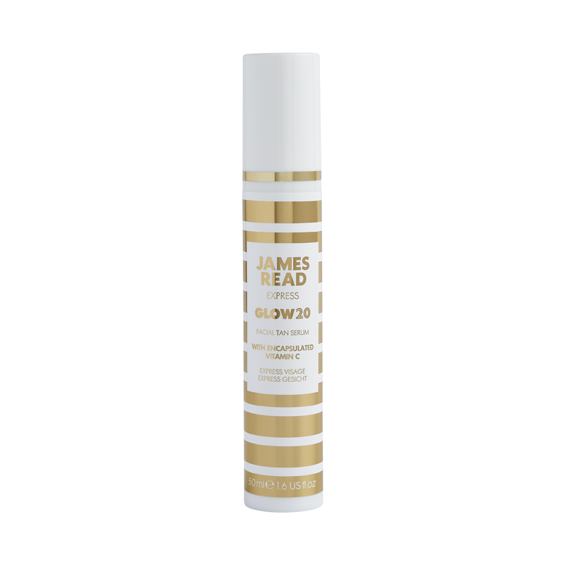 Glow20 Facial Tanning Serum by James Read