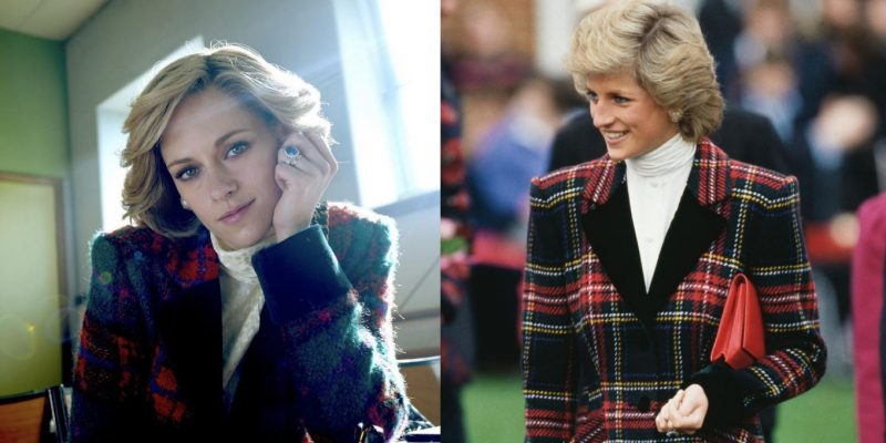 Kristen Stewart as Princess Diana