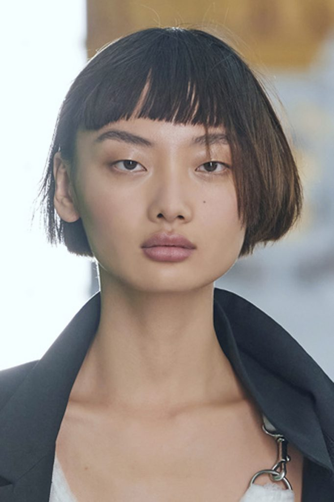 SS21 Hair Trend: Hip To Be Square (Louis Vuitton)