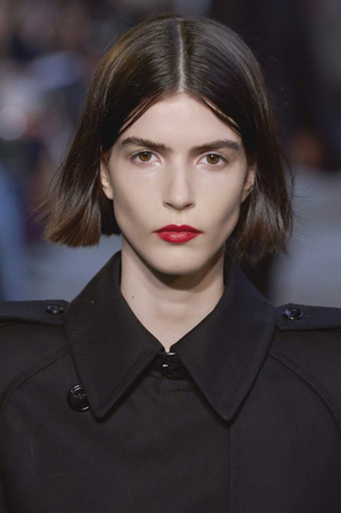 SS21 Hair Trend: Hip To Be Square (Max Mara)