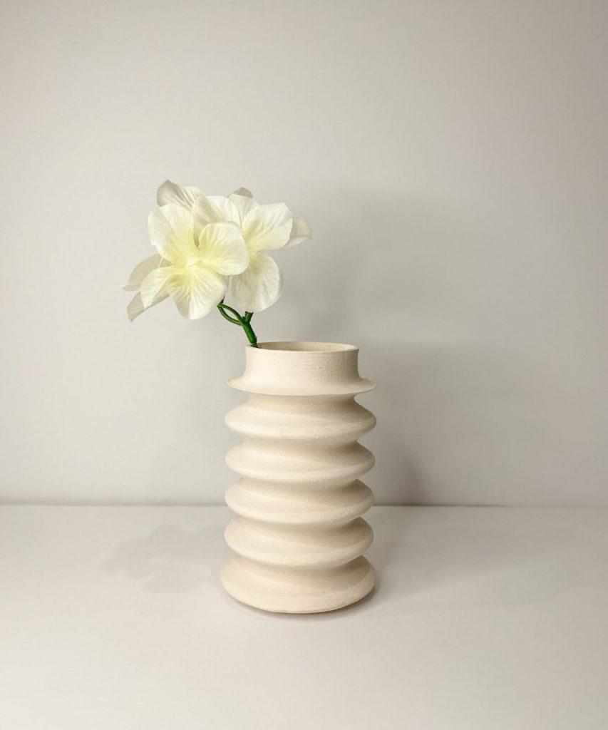 Modern Squiggle Vase, CatMyBody
