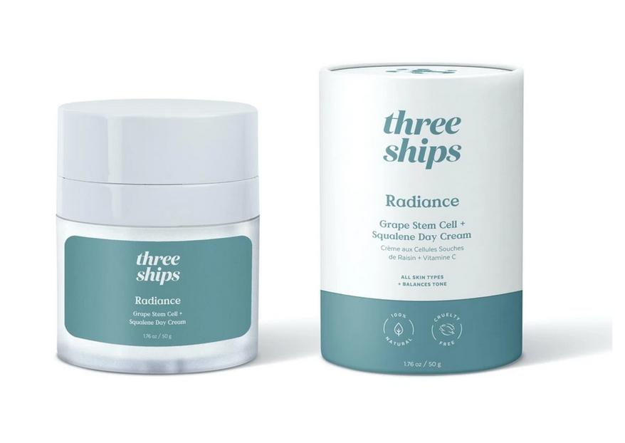 Radiance Grape Stem Cell + Squalane Day Cream, Three Ships