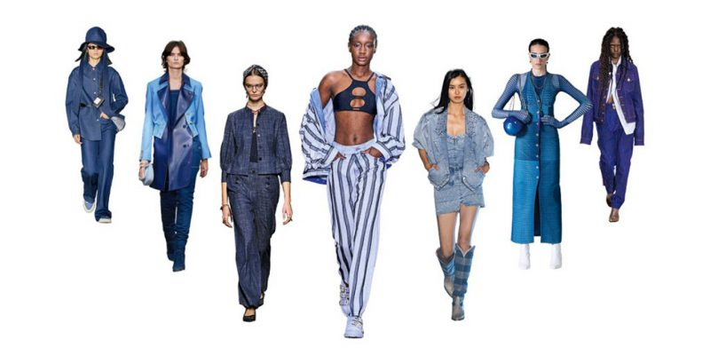 SS21 Fashion Trend: Into the Blue