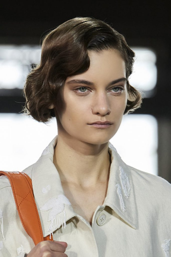 SS21 Hair Trend: Hip To Be Square (Valentino)