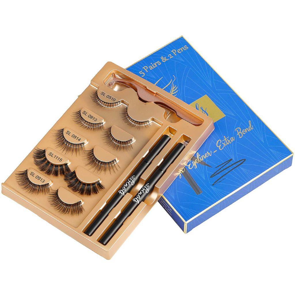 Benols Beauty Magic Eyeliner and False Eyelashes set