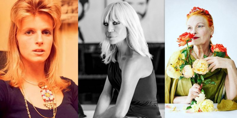 Linda McCartney, Donatella Versace, Vivienne Westwood