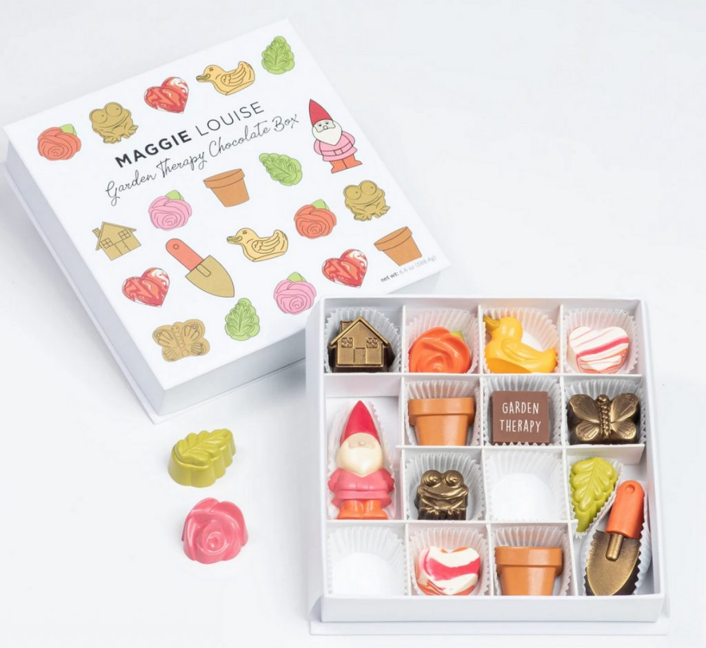 Garden Therapy Chocolate Box, Maggie Louise Confections