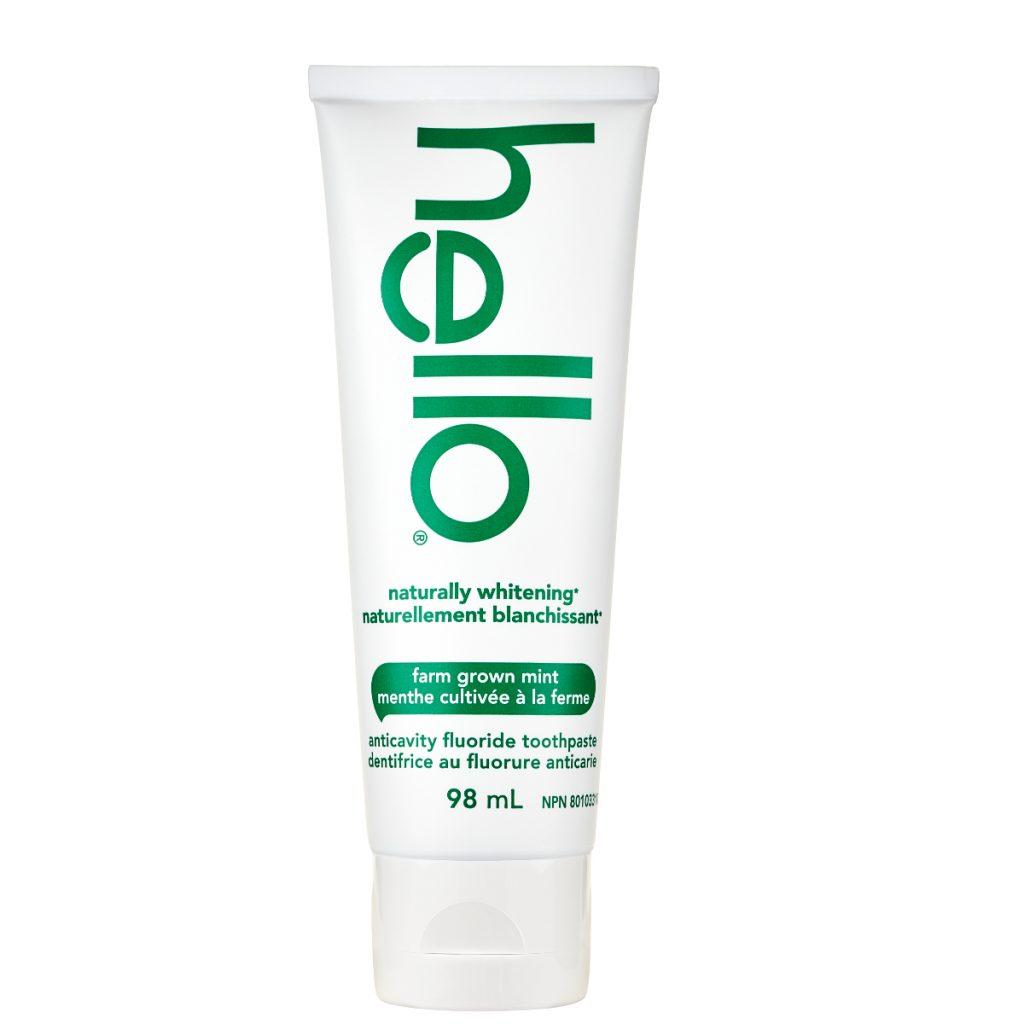 Hello Naturally Whitening Fluoride Toothpaste