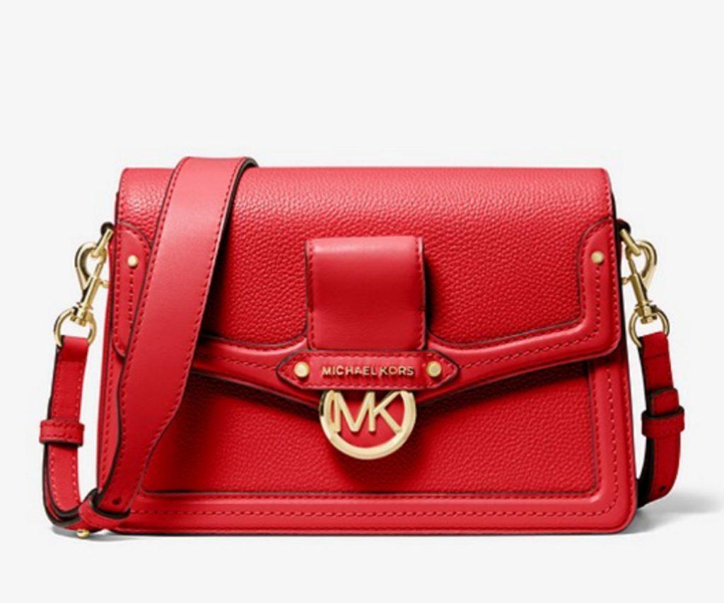 Jessie Medium Pebbled Leather Shoulder Bag, Michael Kors