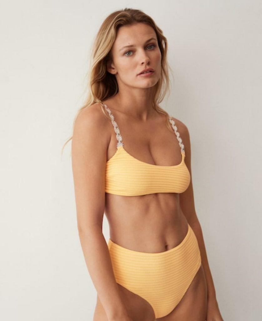 Mango Floral-Strap Bikini